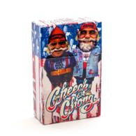 """Cheech & Chong Flip Top Cigarette Case - 85mm """"USA"""""""
