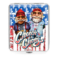 "Cheech & Chong Deluxe Cigarette Case  - 100mm ""USA"""