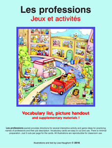 Les professions Jeux et activités 1 e-Lesson
