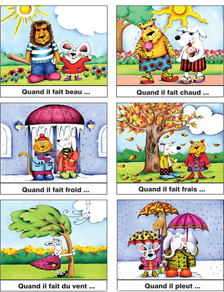 Picture Storyboards in French - Sample 2