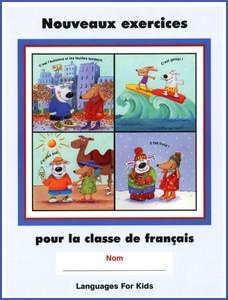 Nouveaux Exercices pour la classe de francais