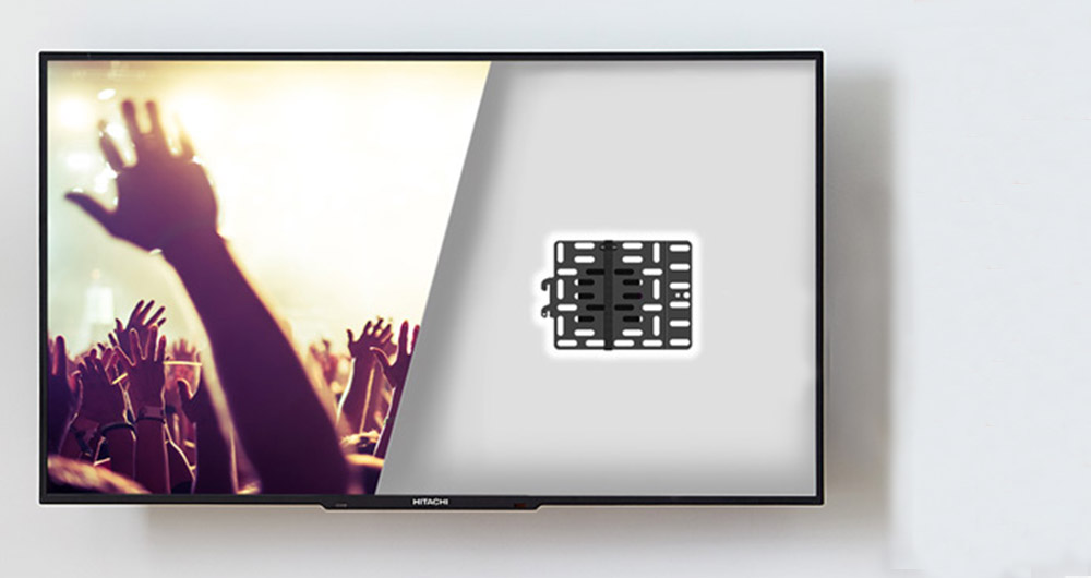Mount a Roku, Apple TV, Tivo Mini, or Fire TV with the universal streaming device mount that easily attaches to your tv