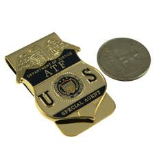 ATF DOJ Alcohol Tobacco Firearms & Explosives Badge Money Clip