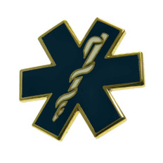 Star of Life EMT Lapel Pin