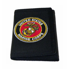 U S Marine Corps Heavy Duty Nylon Wallet