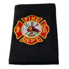 Firefighter Maltese Cross Heavy Duty Nylon Wallet