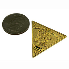 New Jersey State Police Mini Badge Lapel Pin