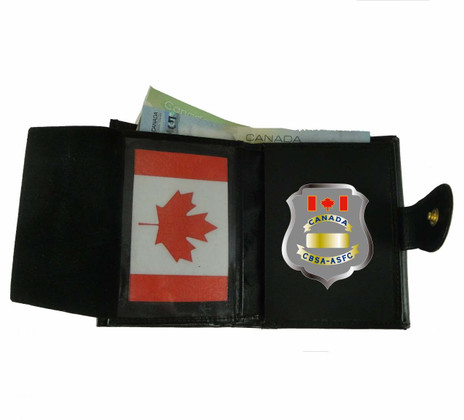 CBSA / ASFC Canada Border Services Agency Ladies Leather Badge and ID Wallet