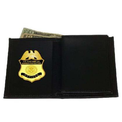 CBP Border Patrol Federal Style Leather badge wallet