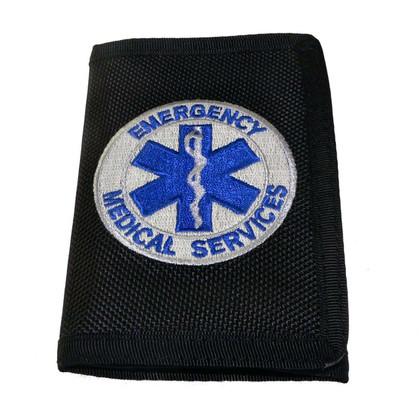 EMS Emergency Medical Services Heavy Duty Nylon Wallet
