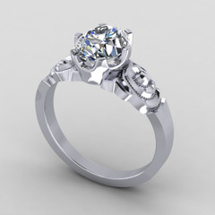 Custom Made Ring for Barbara Ross