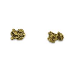 1.9 DWT ALASKA GOLD NUGGET EARRINGS