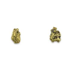 1.90 DWT ALASKA GOLD NUGGET EARRINGS