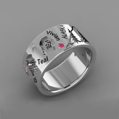 My Story Ring: Created for Rita Bishop