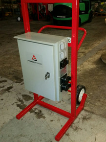 Three Phase,120/240V,200A Distribution Cart, 3A20-2