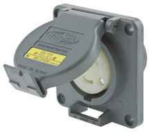 Hubbell HBL2310SW 20A 125V SPIDER BOX Receptacle, L5-20