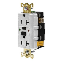 Circuit Guard GFR5362SGW white 20A 125VAC 2P3W NEMA 5-20R