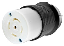 HUBBELL HBL2813 Connector, 120/208VAC, 30A, L21-30R, 4P, 5W