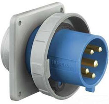 HBL560B9W 60A 120/208V 3PH Hubbell Male Flanged Inlet