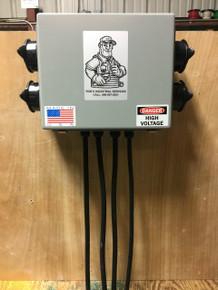 Mountable 200A 480V 3 Phase Distribution Box