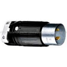 Hubbell HBL3765C 50A 250VDC 600VAC 3P 4W Male Plug