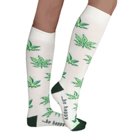 pot leaf socks