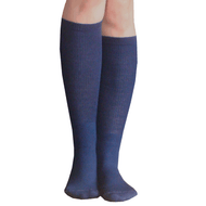 navy blue boot socks