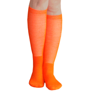 orange boot socks