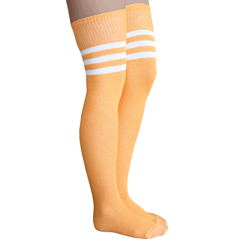 tangerine thigh highs