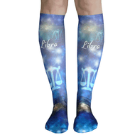 libra astrology socks