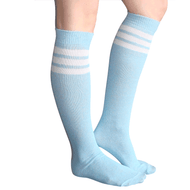 baby blue tube socks