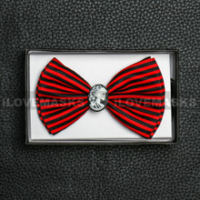 Bow Tie - Sally / Black&Red