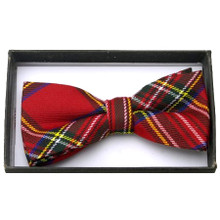 Bow Tie - Red Plaid