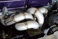 SME V4 stock frame exhaust manifold for EVO4-9