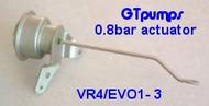VR4/EVO1- 3 replacement actuators 0.8 Bar