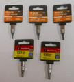 GREAT NECK 5 Piece T-15-T30 Torx Bit Set - TS05