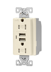 Commercial Spec Grade Combination USB Charger (TR7745LA)