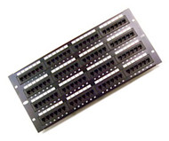 96 Port Horizontal Cat5E 110 Type Patch Panel (568B)