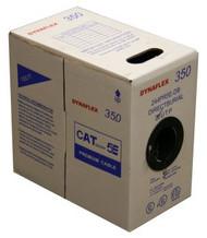 Cat5e Direct Burial Flooded UTP Solid CMR- Black- 1000FT. Box (244PR5EDB)