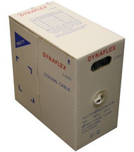 RG-6 Coaxial Cable (Easy Pull) - White (1000FT. Box) (660C-WH-1EZ)