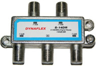 Digital Ready 4 Way 1 GHz Cable Splitter (S-14DR)