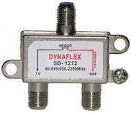 2 AMP Satellite Diplexer (SD-1212)