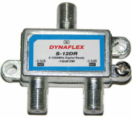 Digital Ready 2 Way 1 GHz Cable Splitter (S-12DR)