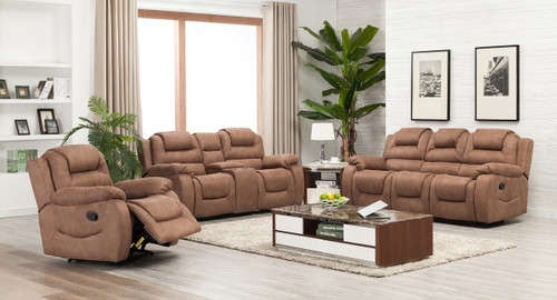 Athens 6 Seater Recliner In Mocha Odds Ends Kenya