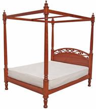 Wasini Poster Bed - Queen
