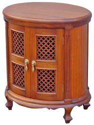 Shimoni Oval Cabinet