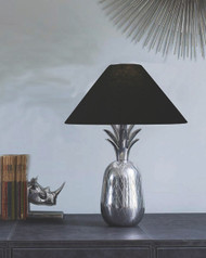 Pineapple Table Lamp In Alluminium