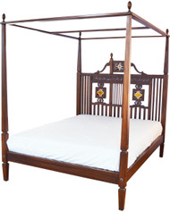 Diani Poster Bed - Queen