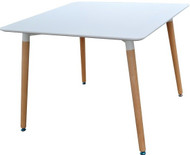 Retro Bistro Table in White