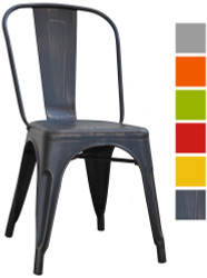 Bistro Metal Chair in Various Colours - OUT OF STOCK